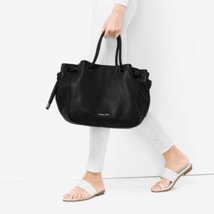 Michael Kors Dalia Large Leather Shoulder Tote Bag
